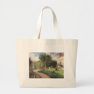 Garden of Les Mathurins at Pontoise by Pissarro Jumbo Tote Bag