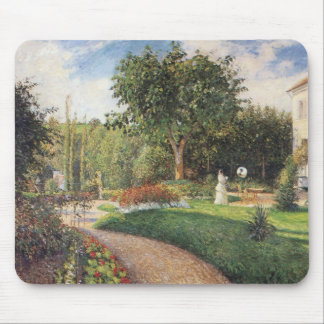 Garden of Les Mathurins at Pontoise by Pissarro Mouse Pad