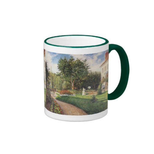 Garden of Les Mathurins at Pontoise by Pissarro Coffee Mug