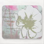"""Garden of Life"" digital collage Mouse Pad"