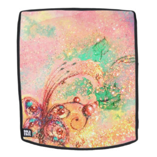 GARDEN OF LOST SHADOWS MAGIC BUTTERFLY PLANT Pink Backpack