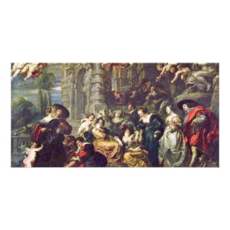 Garden Of Love By Rubens Peter Paul (Best Quality) Card