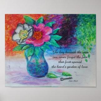 Garden of Love Poster. Poster