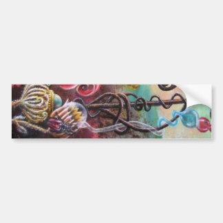 GARDEN OF MELISSA .detail Bumper Sticker