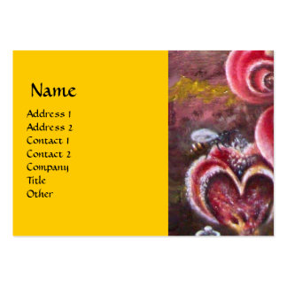 GARDEN OF MELISSA .detail Large Business Card