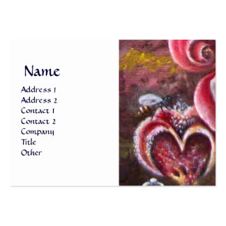 GARDEN OF MELISSA HONEY BEE BUSINESS CARD TEMPLATES