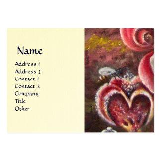GARDEN OF MELISSA HONEY BEE eggshell Large Business Card