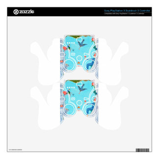 Garden of Paradise Skins For PS3 Controllers