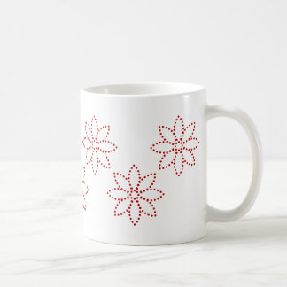 Garden of Posies Classic White Coffee Mug
