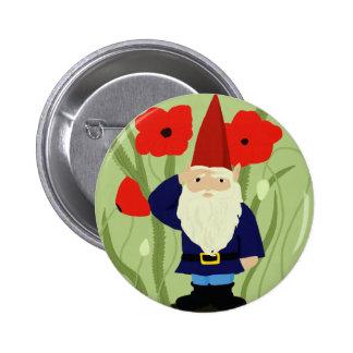Garden of Remembrance Gnome Button