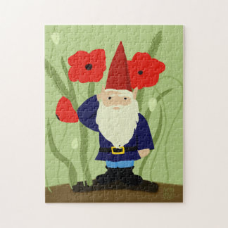 Garden of Remembrance Gnome Jigsaw Puzzle