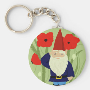 Garden of Remembrance Gnome Keychain dd901bdfba