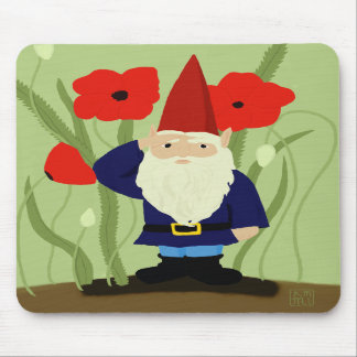 Garden of Remembrance Gnome Mousepad