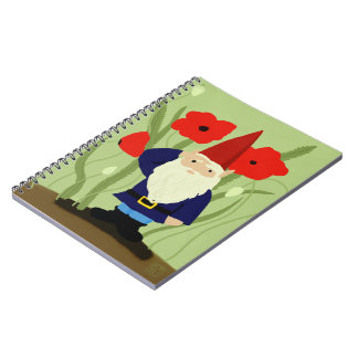 Garden of Remembrance Gnome Notebook