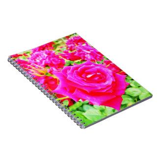Garden of Roses Notebook