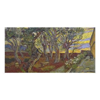 Garden of Saint Paul's Hospital Vincent Van Gogh Card