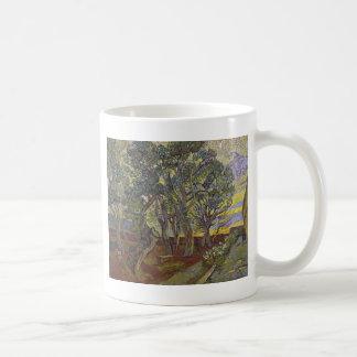 Garden of Saint Paul's Hospital Vincent Van Gogh Classic White Coffee Mug