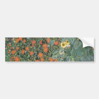 Garden of sunflower bumper sticker