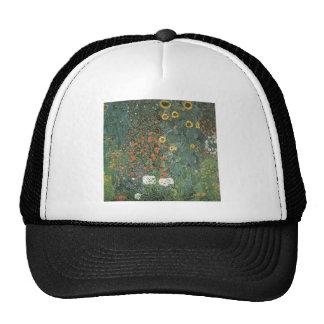 Garden of sunflower trucker hat