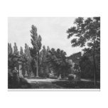 Garden of the cloister, Musee des Monuments Canvas Print