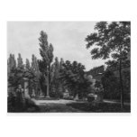 Garden of the cloister, Musee des Monuments Postcard