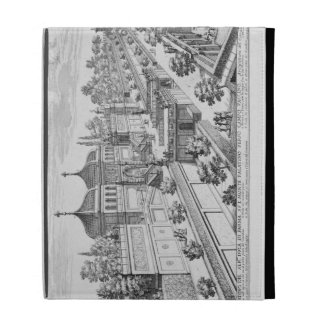 Garden of the Duke of Parma on the Palatine Hill, iPad Cases