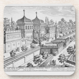 Garden of the Duke of Parma on the Palatine Hill, Coaster