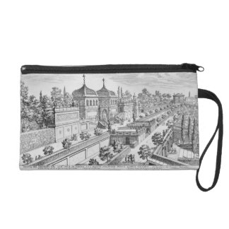 Garden of the Duke of Parma on the Palatine Hill, Wristlet Purse