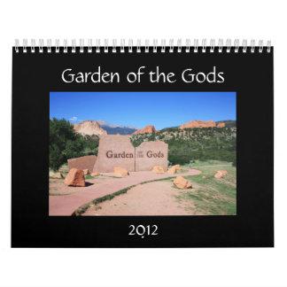Garden of the Gods 2012 Calendar