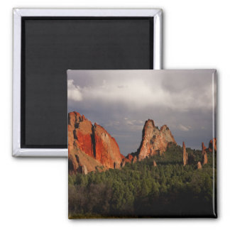 Garden of the Gods 2 Inch Square Magnet