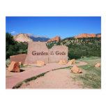 Garden of the Gods - Colorado Postcard