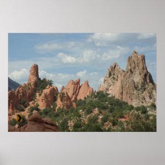 Garden of the gods Colorado Springs, Colorado Poster
