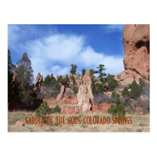 GARDEN OF THE GODS-COLORADO SPRINGS-Post card