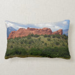 Garden of the Gods Kissing Camels Throw Pillows