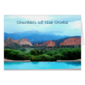 Garden of the Gods notecard