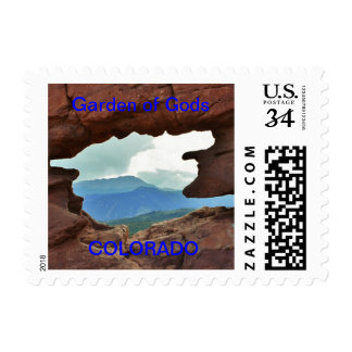 Garden of the Gods , Post Card Stamp