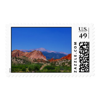 Garden of the Gods Postage Stamp