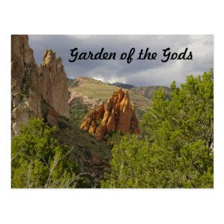 Garden of the Gods Postcard