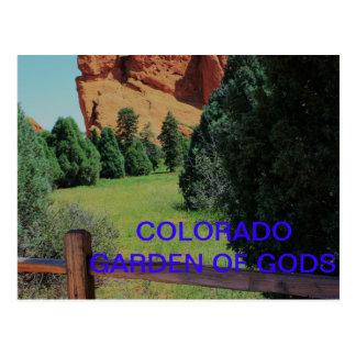 GARDEN OF THE GODS POST CARD