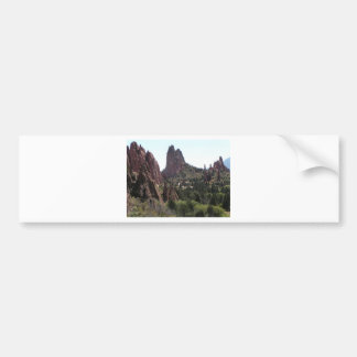 Garden of the Gods rock formations Bumper Sticker