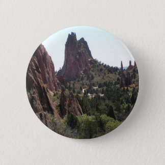 Garden of the Gods rock formations Button