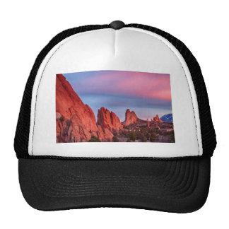 Garden of the Gods Sunset View Trucker Hat