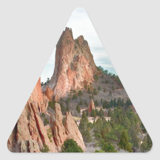 Garden of the Gods Triangle Sticker