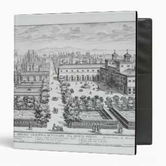Garden of the Grand Duke of Tuscany on the Monte P Binder