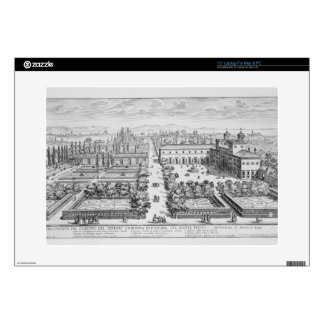 Garden of the Grand Duke of Tuscany on the Monte P Laptop Decals