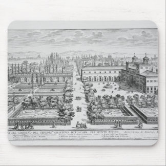 Garden of the Grand Duke of Tuscany on the Monte P Mouse Pad