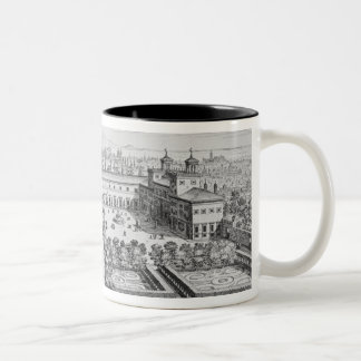 Garden of the Grand Duke of Tuscany on the Monte P Two-Tone Coffee Mug