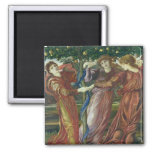 Garden of the Hesperides, 1869-73 2 Inch Square Magnet
