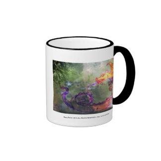 Garden of the Hesperides Ringer Coffee Mug