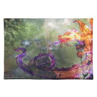Garden of the Hesperides Cloth Place Mat